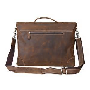 Laptop Bag Leather Bag Briefcase 16 Inch Leather Laptop Computer Bag
