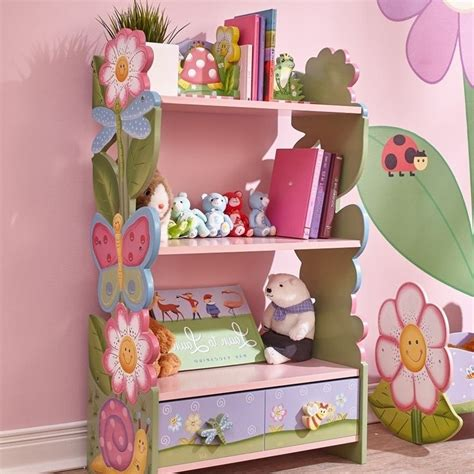 fields painted magic garden bookshelf w 7500a