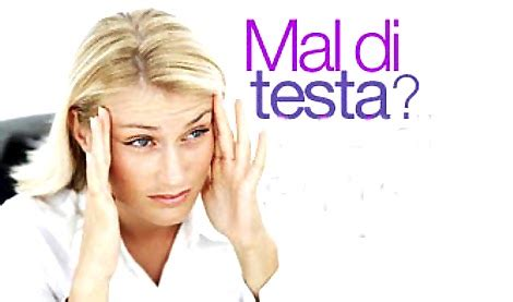 mal di testa da tre giorni la cucina curativa novembre 2012