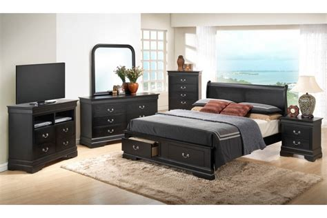 black queen bedroom set black bedroom sets queen bedroom sets dawson black queen