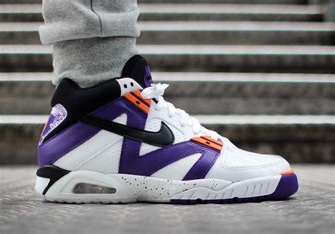 nike air tech challenge 3 og voltage purple sneaker bar