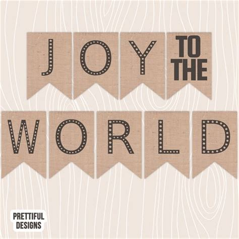 printable joy banner prettiful designs