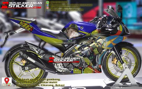 Sticker Striping Motor Stiker Yamaha Jupiter Mx Vr46 Spec B sticker motor vr46 impremedia net