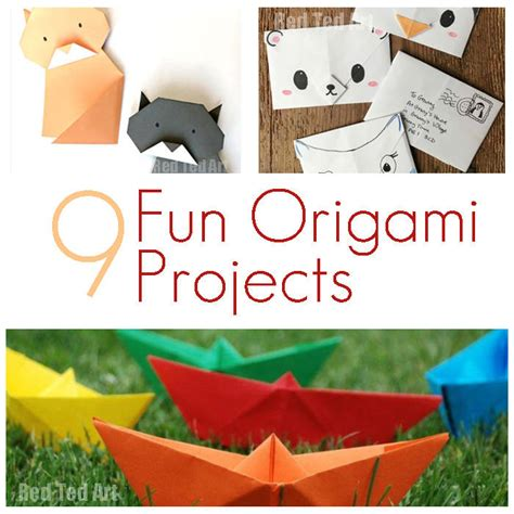 Cool Origami Projects - origami projects