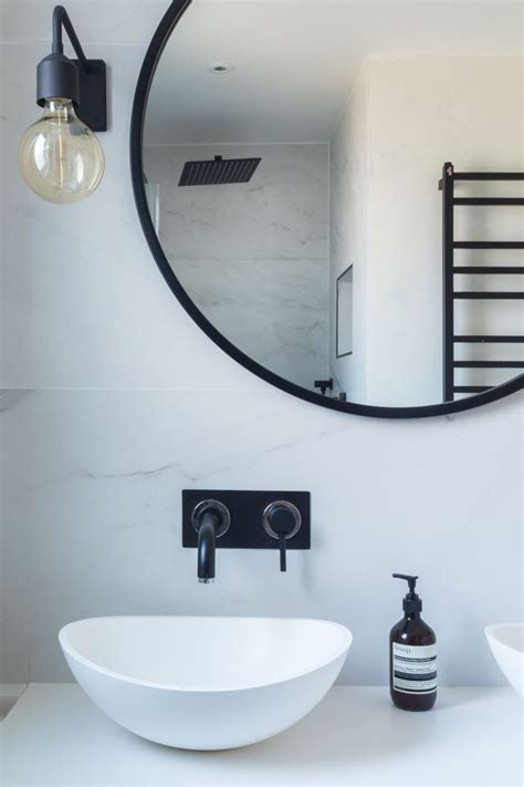 bathroom marble tiles marble black and white bathroom