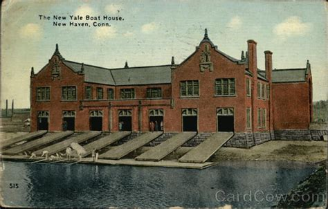 boat house new haven the new yale boat house new haven ct postcard
