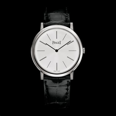 white gold ultra thin mechanical g0a29112 piaget