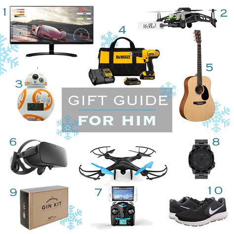 holiday gift guide for guys best gifts for boyfriends
