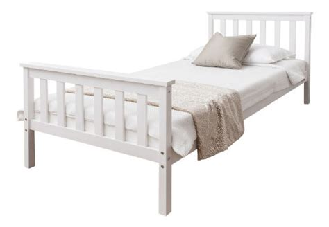single white wooden headboard single bed in white 3ft single bed wooden frame white dorset
