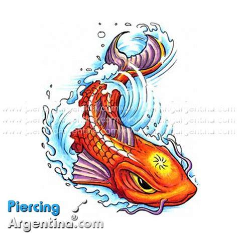 tattoo pez koi y flor de loto dise 241 os de tatuajes tatuaje pez koi
