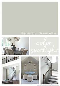 Home Interior Paint Ideas repose gray from sherwin williams color spotlight