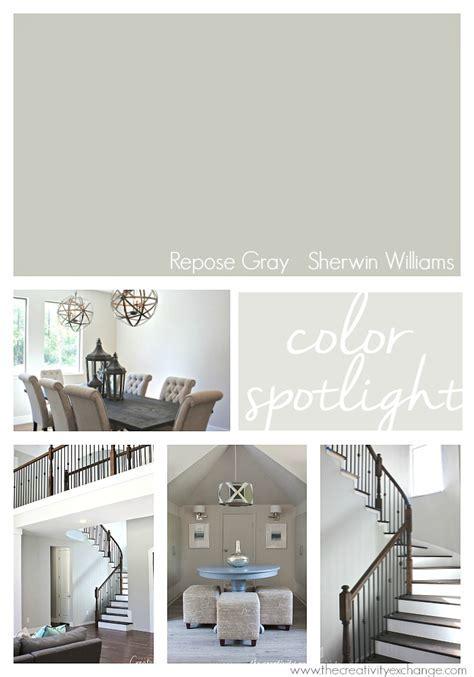 Repose Gray from Sherwin Williams: Color Spotlight