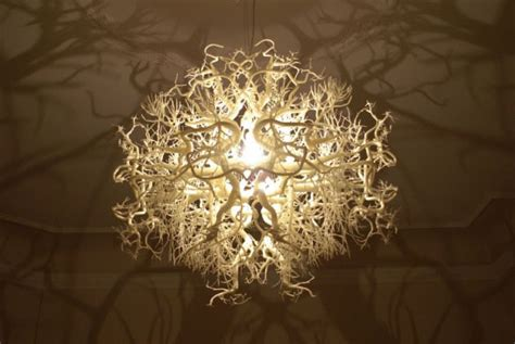 Shadow Chandelier This Gorgeous Chandelier Plays With Shadows To Transport You Into A Fascinating Forest