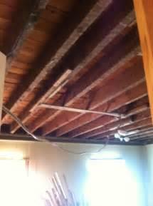 exposed floor joist ceiling