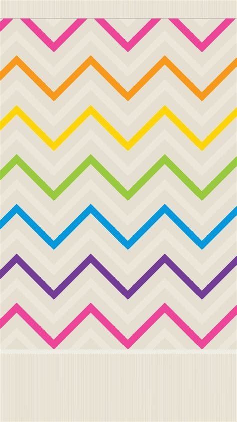 zig zag wallpapers for iphone 5 rainbow pink orange green thin chevron zig zag stripes