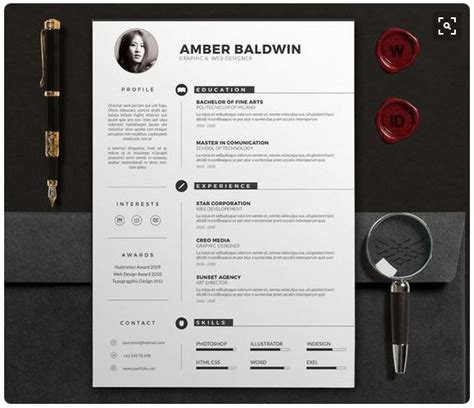 creative resume template docx modern resume templates docx to make recruiters awe