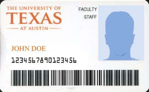 texas id template image collections templates design ideas