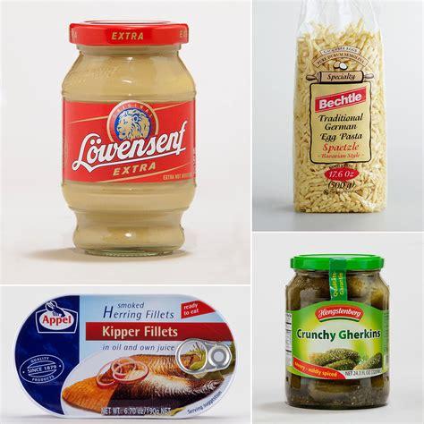 German Pantry Menu by German Pantry Staples Popsugar Food