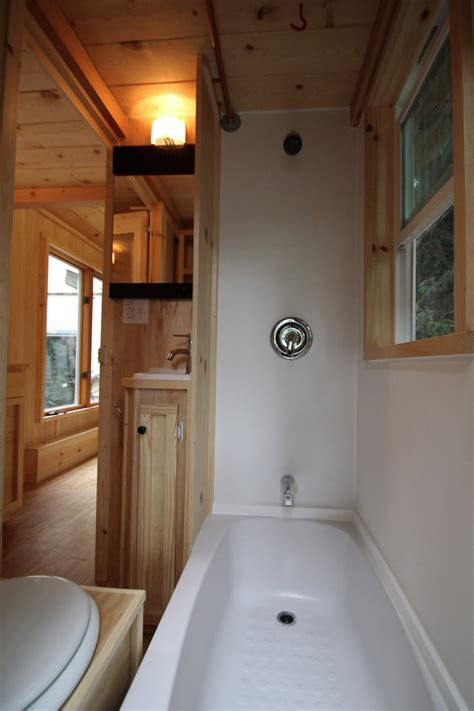 tiny house bathtubs molecule tiny homes tiny house design