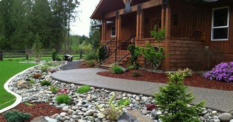 desain depan rumah dengan taman menata desain taman depan rumah minimalis dengan kerikil