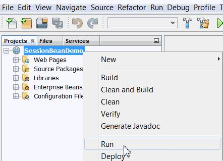 ejb tutorial on netbeans ejb tutorials in netbeans