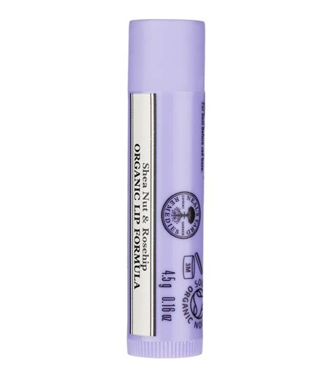 Isehan Nature Lip Care 4 5g organic shea nut rosehip lip formula organic