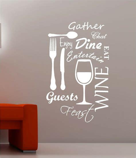 kitchen word cloud vinyl wall art quote sticker dining food wine ebay