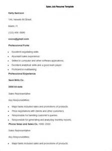 sales resume template 41 free samples examples format