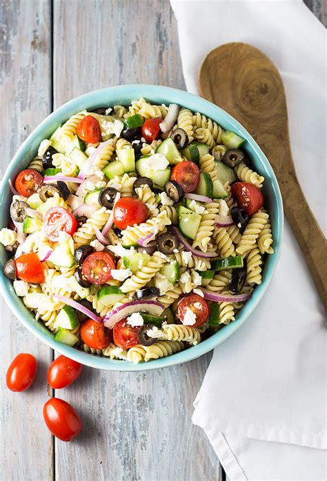 greek pasta salad the blond cook greek pasta salad the blond cook