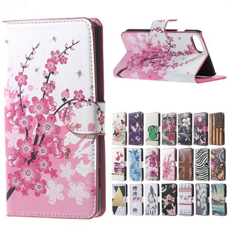 Iphone 7 7s Plus Flip Wallet Leather Casing Cover Book Dompet pink plum magnetic leather wallet handbag book cover for flip apple iph iphone 6 6s 7 7s