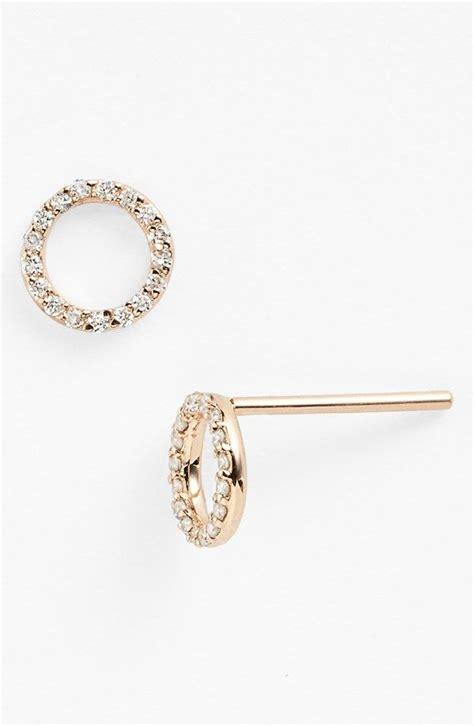 Circle Stud Earrings best 20 earrings ideas on