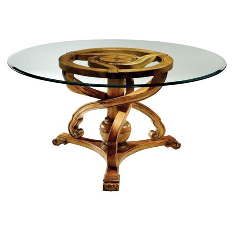 60 glass table round dining table base round 60in glass top glass top