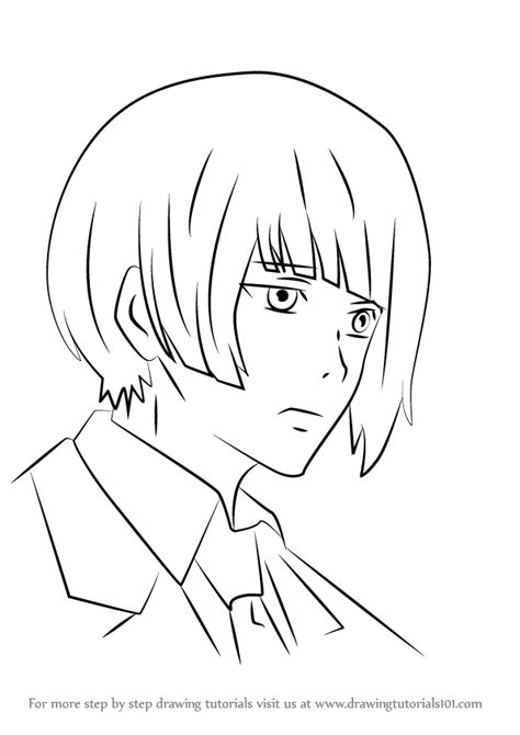 Learn How to Draw Koori Ui from Tokyo Ghoul (Tokyo Ghoul