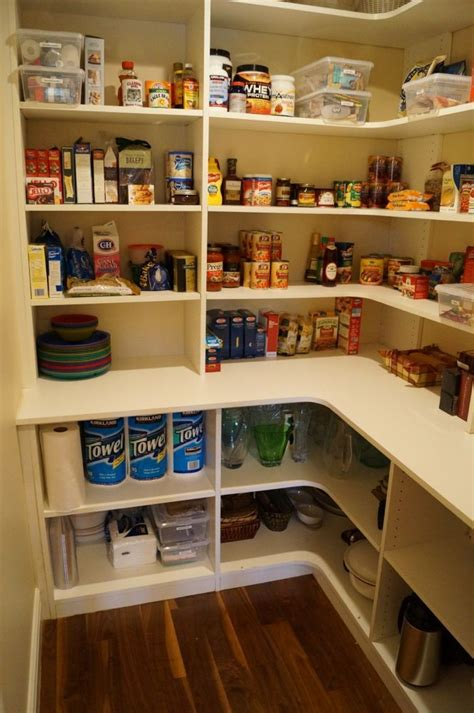 Corner Pantry Shelving by Best 25 Corner Pantry Organization Ideas On