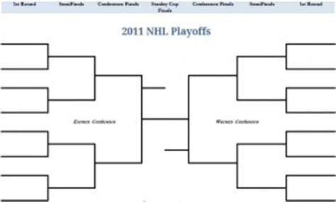 nhl playoff bracket template 2011 page 20 of 29 my excel templates