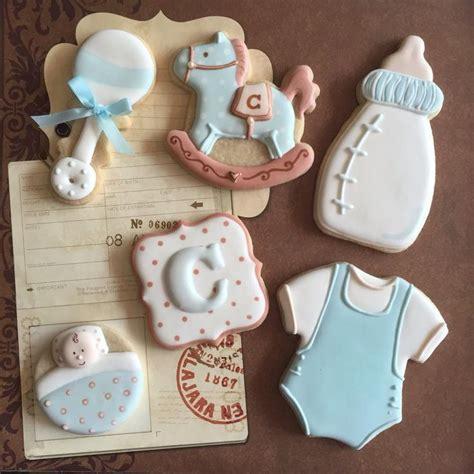 decorar galletas para un baby shower galletas de glasa con decoraci 243 n infantil pinin happy