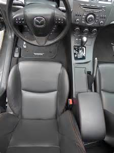 black leather seats with stitching 2004 to 2016
