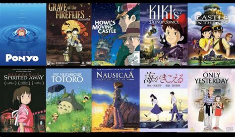 liste film animation ghibli studio ghibli the disney of japan wa
