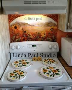 Sunflower Kitchen Ideas by Sunflower Kitchen Decor Tile Murals Western Backsplash