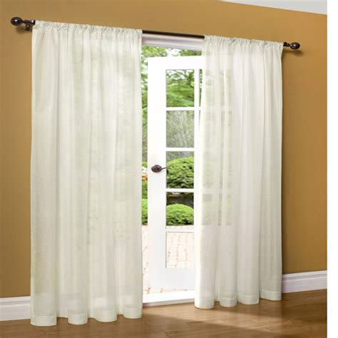 thermasheer curtains weathershield ivory thermasheer insulated semi sheer rod