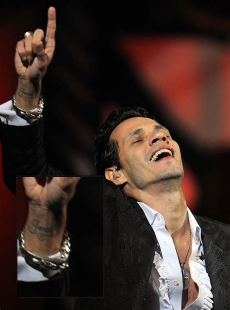 marc anthony tattoos s ex husband anthony has jlo s name