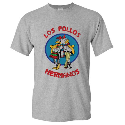 Kaos T Shirt Breaking Bad los pollos hermanos t shirt