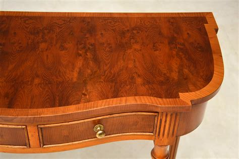 antique wood console table antique yew wood console table marylebone antiques
