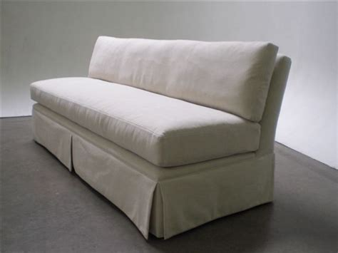 Armless Sofa Slipcover Armless Sofa Slipcover Deluxe Armless Furniture Cover For