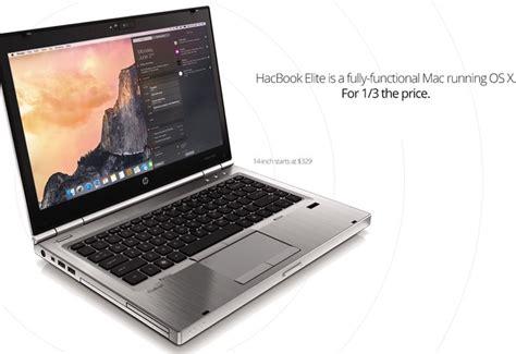Laptop Apple Mac Os upgradeable hackbook elite mac os x laptop geeky gadgets