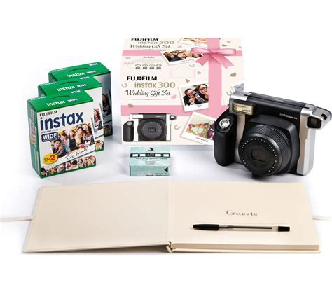 Buy INSTAX WIDE 300 Instant Camera Wedding Bundle   Black