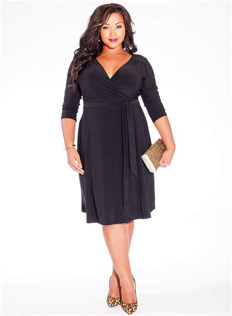 Flattering Little Black Dress Plus Size