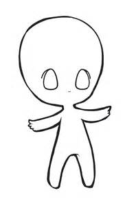 Base Outline by Fatty Chibi Base By Eeyrie On Deviantart