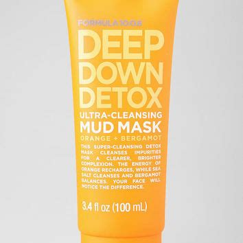 Formula 10 0 6 Detox Mud Mask Recension by Outfitters Formula 10 0 6 From Outfitters
