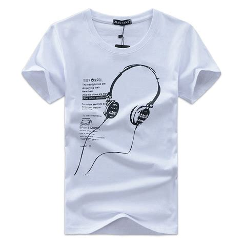Airwalk T Shirt Kaos Pria Size S kaos katun pria t shirt headphone o neck size s white